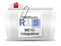 DBworks ME10 integration